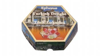 Limon ve Gül Aromalı Türk Lokumu